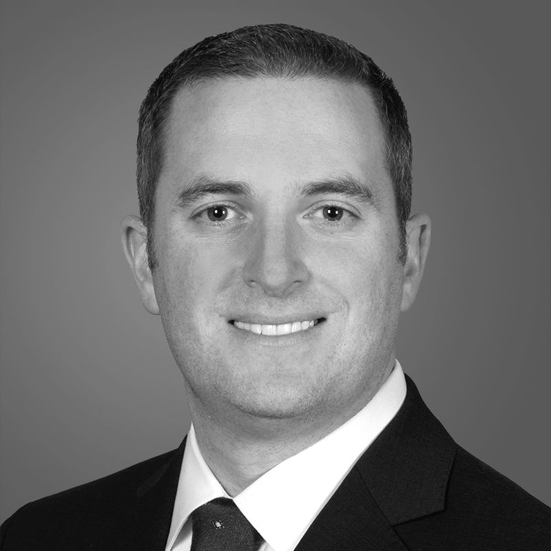 black and white photo of Eric Cohen of Toll Brothers Apartment Living